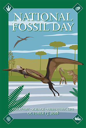 National Fossil Day 2018 logo